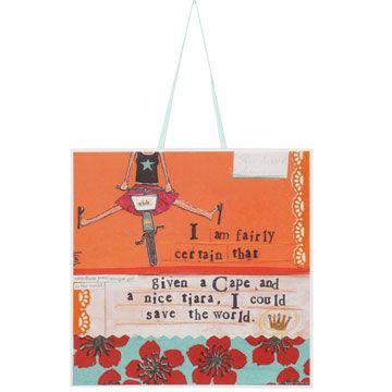 Shopping at Femail Creations - Cape And Tiara Print