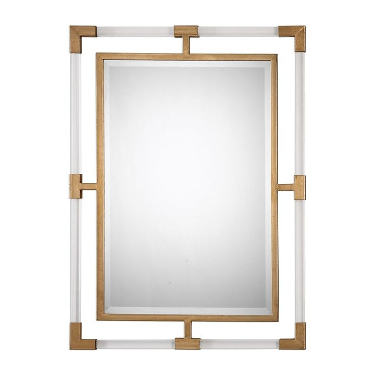 Shop Castle & Crane Castle & Crane Balkan Modern Gold Wall Mirror at The Mine. Browse our wall mirrors, all with free shipping and best price guaranteed.