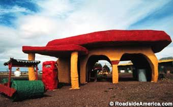 Bedrock City - Williams, Arizona-This place was so cool to visit when I was younger