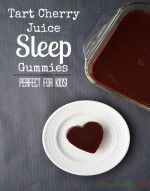 Tart Cherry Juice Sleep Gummies are perfect for kids. Helps them get to sleep and stay asleep naturally.