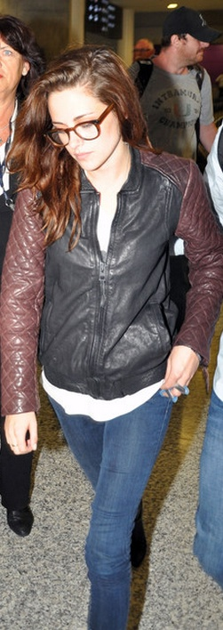 Jacket – AllSaints, Jeans – 7 for All Mankind (sept 2012)