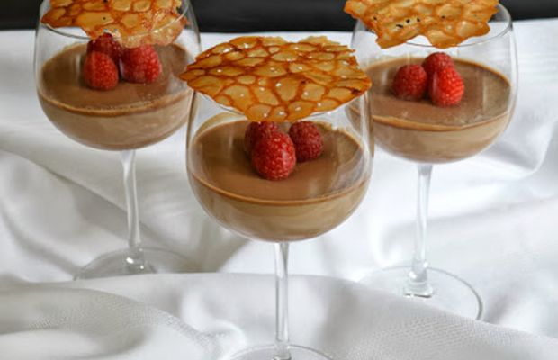 ... panna cotta - Mytaste.com | Chocolate | Pinterest | Panna cotta and