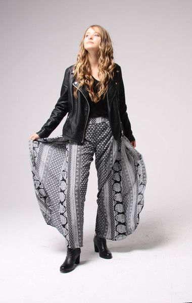 Hosen - palazzo pants VERONA - ein Designerstück von PapayaLove bei DaWanda