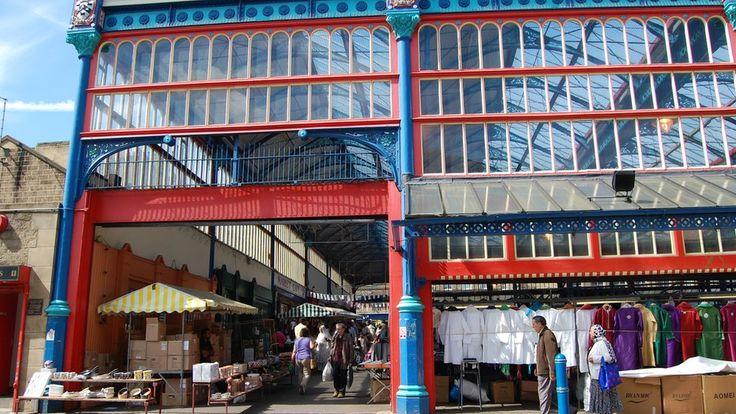 The former wholesale market, Huddersfield.