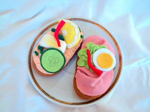 Obložený chlebíček