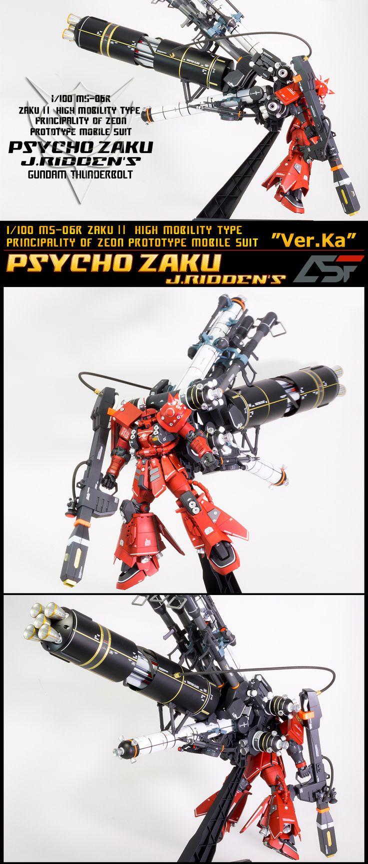 MG1/100 PSYCHO ZAKU サイコザク ジョニーライデン - ヤフオク!