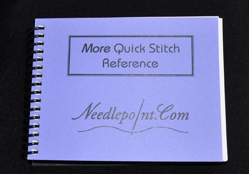 Crochet Stitch Quick Reference : More Quick Stitch Reference Needlepoint Canvases & Products 3 Pin ...
