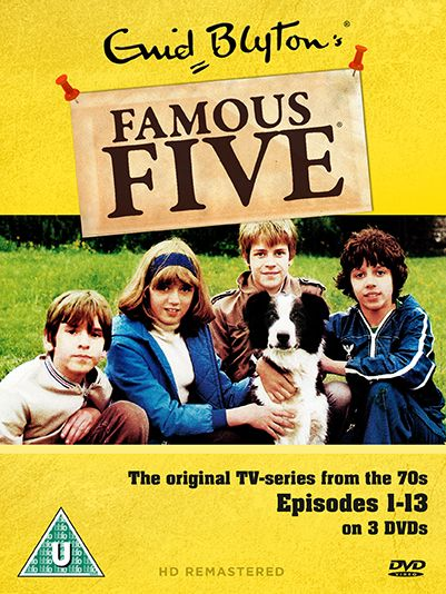 Win: Celebrate 70 years of Enid Blyton with the Famous Five Series One on DVD   Hey U Guys