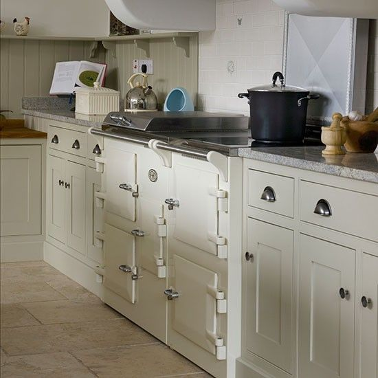 Kitchen Design Range Cooker: Cream Kitchen With Range Cooker. Like The Cabinets And