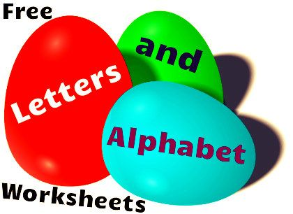 Free Letters and Alphabet Worksheets!