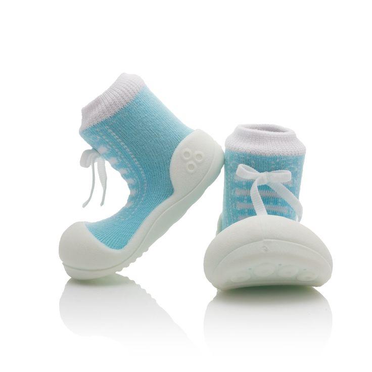 Pierwsze bucki dla niemowlaka Attipas Sneakers Sky