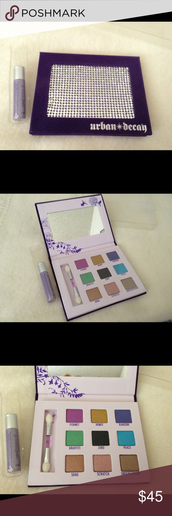 Urban Decay Deluxe Shadow Box NIB This Is A Brand New Unused Urban Decay DELUXE Shadow Box! It Has A Nice Variety Of Colors And The Box Is Gorgeous Purple Felt Or Velour And The Silver Is Like Jewelry! Perfect Gift Idea! Thanks ! Urban Decay Makeup Eyeshadow