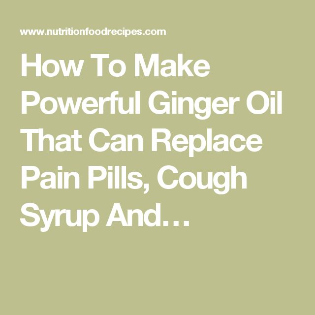 68 Best Facing Our Risk Of Cancer Images On Pinterest: How To Make Powerful Ginger Oil That Can Replace Pain