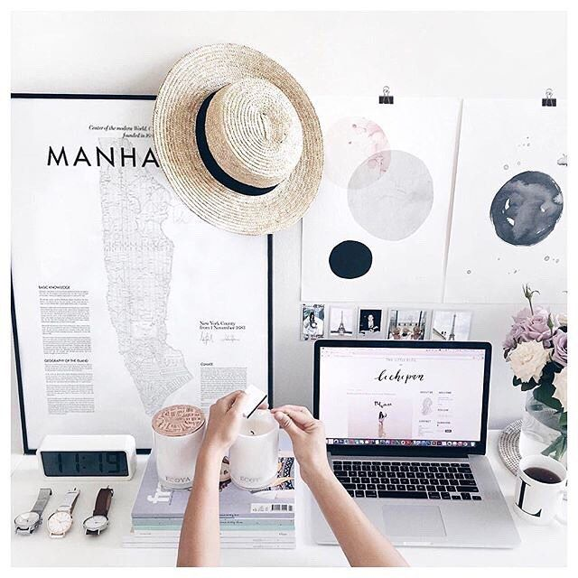 Lovely desk space via @lichipan   Featuring The Nolita from our New York Collection  #wanderlustwatches
