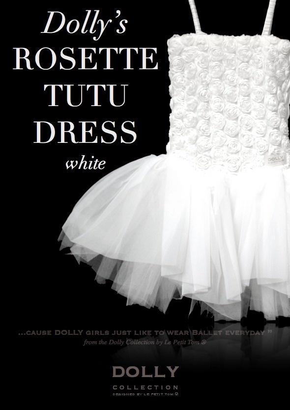 Luxusné ružičkové tutu šiatky – biele