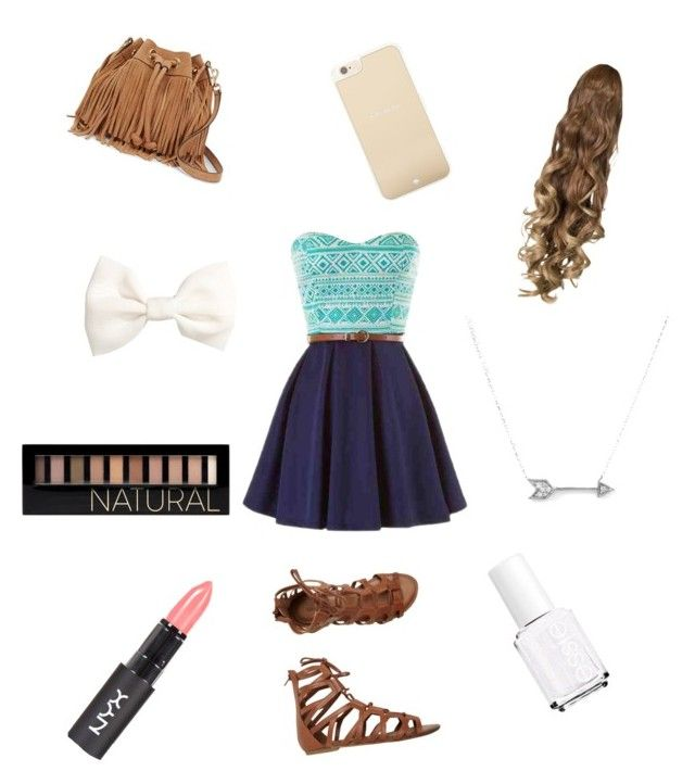 Untitled #5 by huntergirl19 on Polyvore featuring polyvore, fashion, style, O'Neill, Rebecca Minkoff, Adina Reyter, Kate Spade, H&M, Forever 21 and Essie