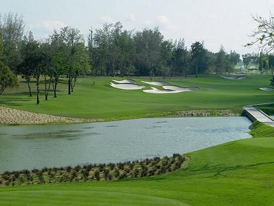 Siam Country Golf Club (Old Course) in Pattaya, Thailand