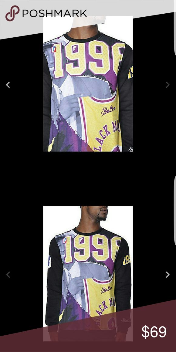 Post Game LA Lakers Kobe Bryant Draft Shirt 2XL Post Game Size 2XL. Please note this shirt fits like an XL.  Post Game products fit one size down Size tagged 2XL (fits XL) Model-Kobe Bryant 1996 Draft Day COLOR IS BLACK, YELLOW, PURPLE. post game Shirts Sweatshirts & Hoodies