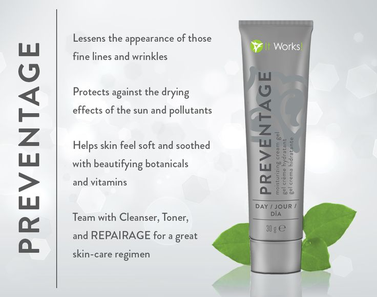 Preventage- Day moisturising cream gel