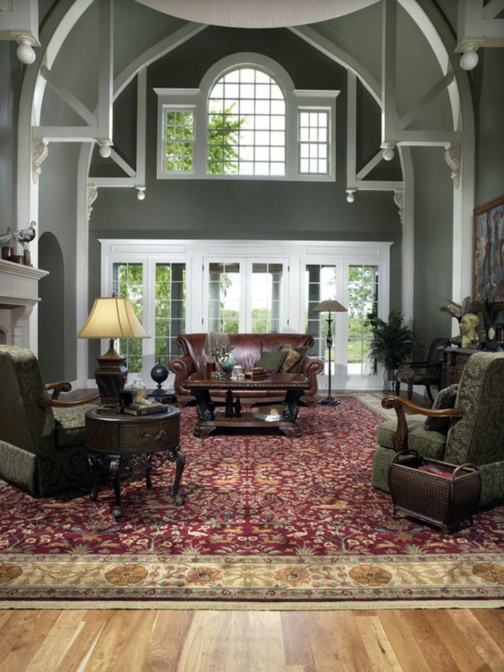 252 best area rugs images on pinterest area rugs rugs - Pictures of area rugs in living rooms ...