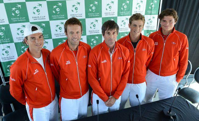 Canada's Davis Cup team