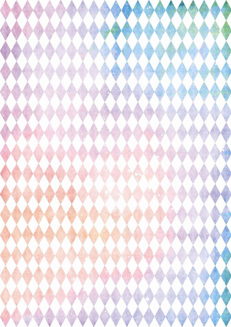마름모 패턴 꾸미기