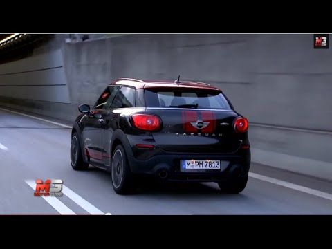 NEW MINI PACEMAN 2014 - FIRST TEST DRIVE ONLY SOUND