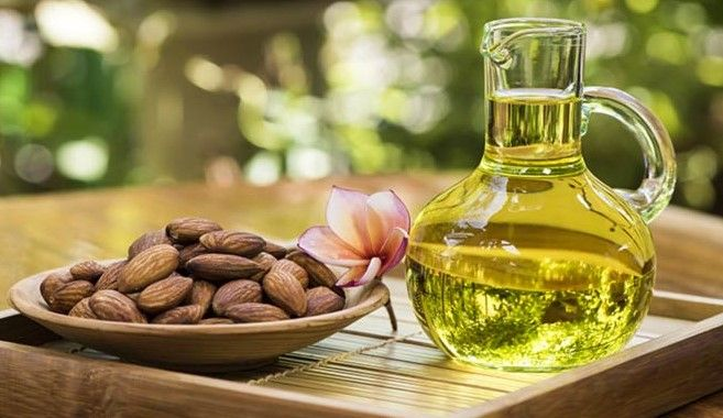 There are many benefits of using almond oil. It is good for skin, hair as well as used in cooking