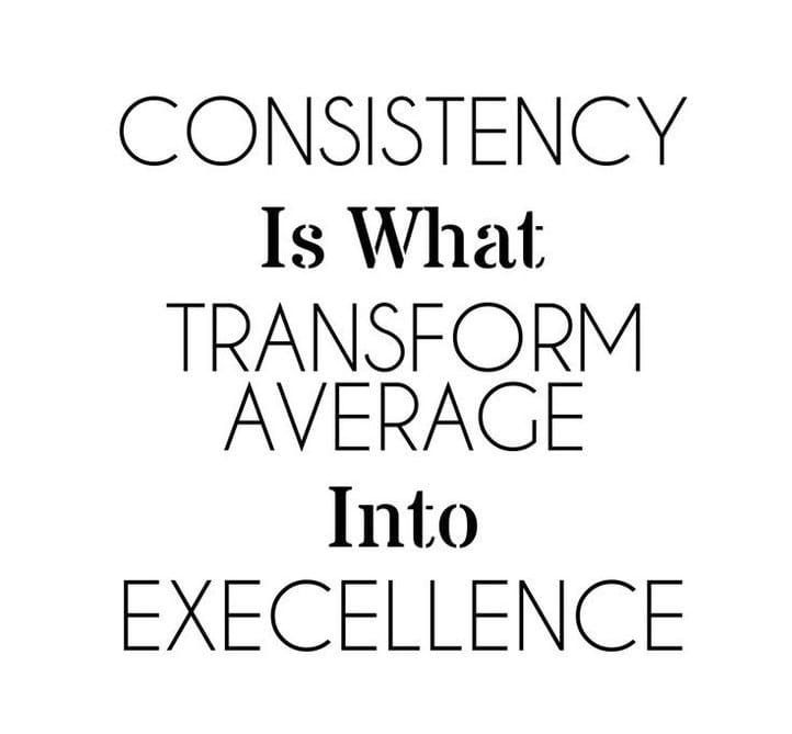 Being consistent isn't easy, but always worth it | Hard work quotes, Work  quotes, Work hard
