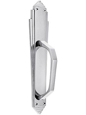 Art Deco Door Pull via House of Antique Hardware.