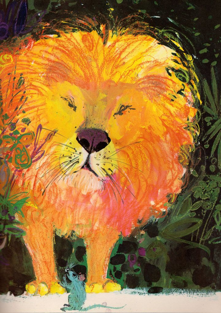 The Lion and the Rat. illustrated by Brian Wildsmith