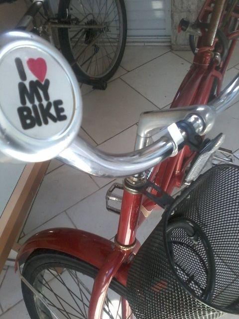 Minha bike retro!