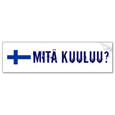 This means how are you? in Finnish.
