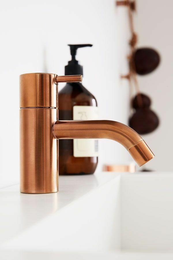 badezimmerarmatur badeinrichtung spültischarmatur kupferfarbe