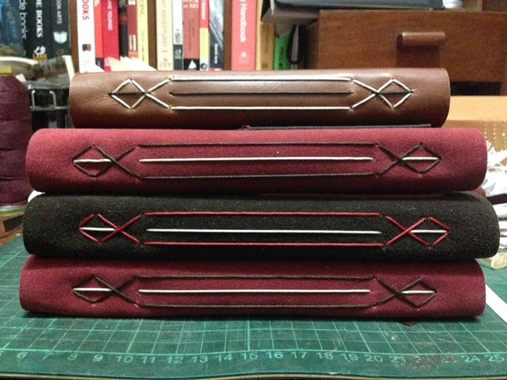 Longstitch binding variation #bookbinding #handmadebyvitarlenology follow instagram @vitarlenology