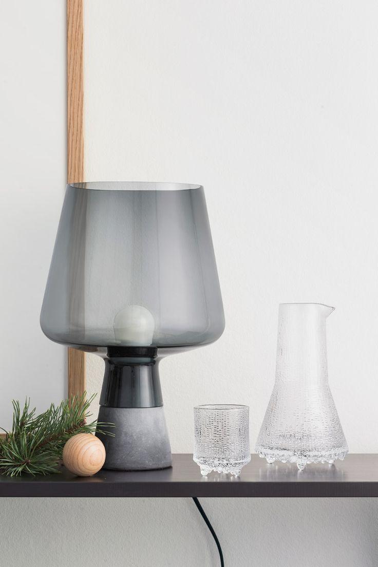 Iittala Christmas 2015 via Purodeco blog - Grey Leimu lamp