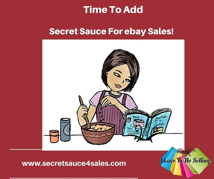 What S The Secret Ingredient For Ebay Sales Success Sign Up Today Ebay Selling Tips Ebay Selling On Ebay