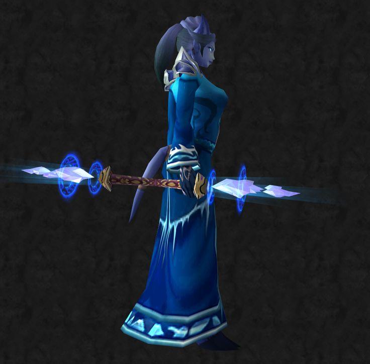 Frost Mage Transmog Staff Warcraft