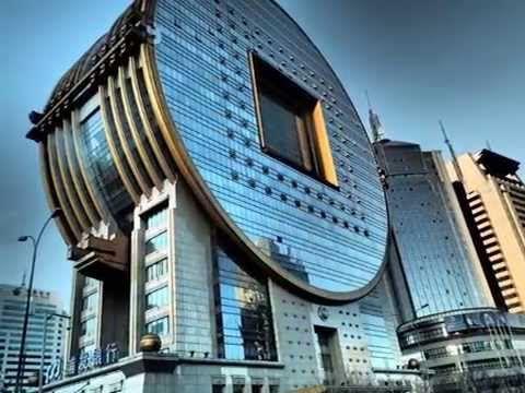 Unusual building in Shenyang China
