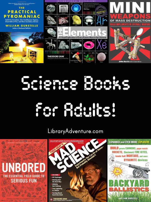 Science Books for Adults or maybe the library