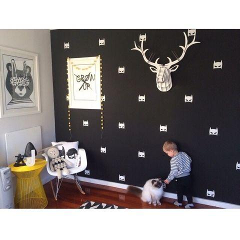 FLY LITTLE GUY: Boys Bedroom: Black and White Toddler Room