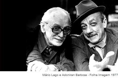Mario Lago e Adoniran Barbosa