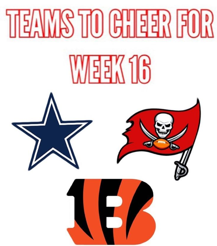 These are the teams that the Falcons want to win.  Cowboys vs Seahawks. We want Dallas to win because Dak sucks and nobody wants to play Seattle in the playoffs.  Panthers vs Buccaneers. We really need Tampa Bay to beat Carolina because of obvious reasons to help us in the NFC south race.  Lions vs Bengals. We want Cincinnati to upset Detroit to help our playoff chances.  Tags #falcons #atlanta #atlantafalcons #brotherhood #riseup #dirtybirds #NFL #moknows #jetjones #turbotaylor #mattyice…