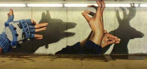 Realism work by Glasgow artist Rogue-one (graffiti)