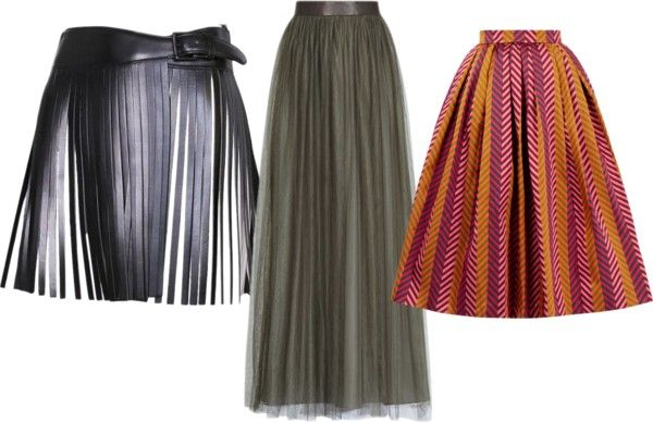 """Отложите кожаные """"мини"""" до лучших времен. Разбираемся какие юбки на пике популярности в 2017 году"""