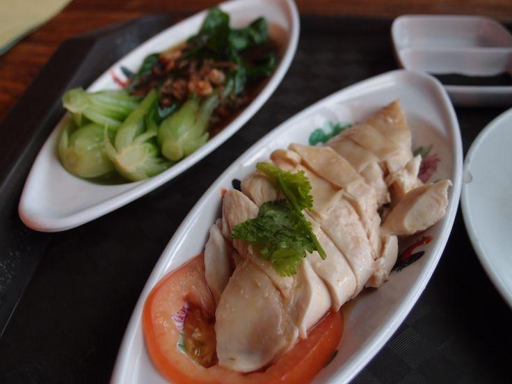 Hainanese Chicken Rice@Vivo City Food Court, 2012/12