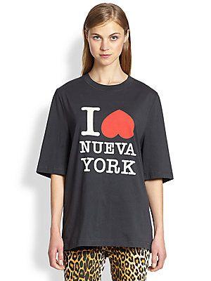 3.1 Phillip Lim I Love Nueva York Cotton Jersey Tee