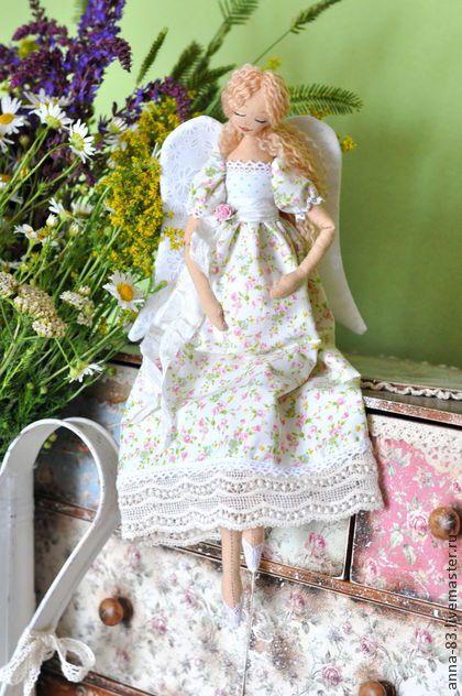 Коллекционные куклы ручной работы. Ярмарка Мастеров - ручная работа Ангелок для будущей мамы. Handmade.
