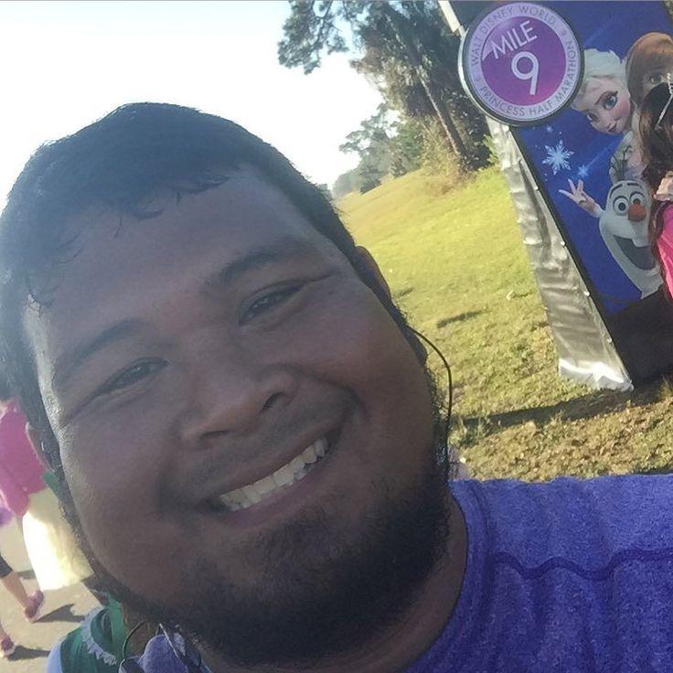 It wasn't cold but the weather was great at mile 9!!! #run #running #rundisney #princesshalfmarathon #princesshalfmarathonweekend #disney by j_pillow