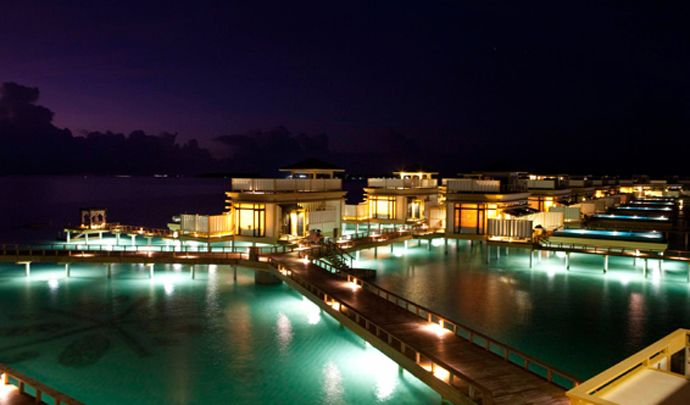 Angsana Velavaru Resort Surrounding by Blue Waters with Tropical and Contemporary Styles, Maldives